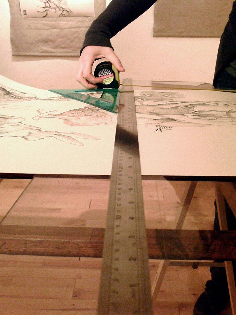 CUT OFF + MUNECAS.  Elastico Studio, Bologna - 2013